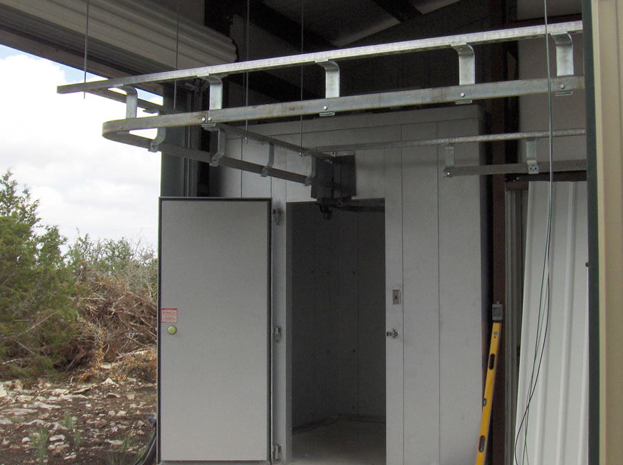 Kt Coolers Meat Trolley Rail System For Walk In Coolers